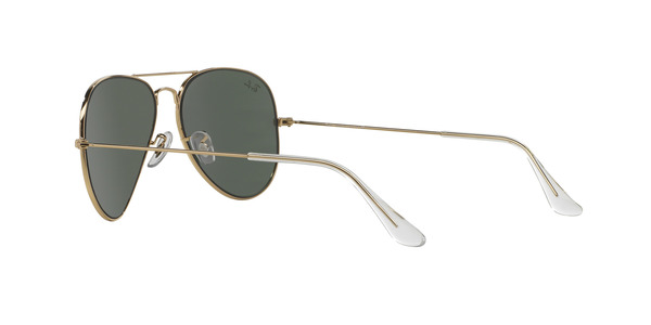 RAY-BAN RB3025 AVIATOR LARGE METAL » ARISTA/CRYSTAL GREEN