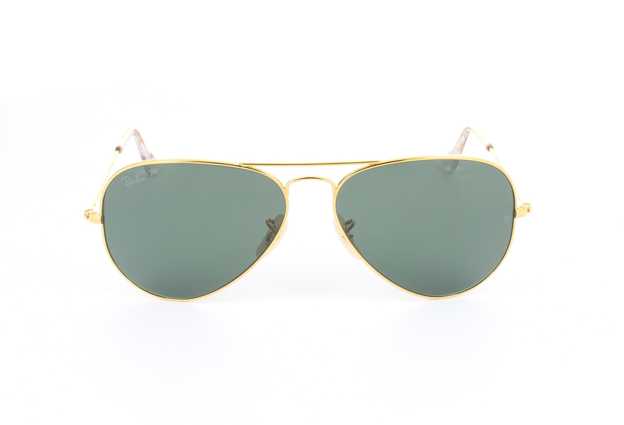 ray ban aviator green gold  Ray-Ban Aviator Solid Gold Aviator Solid Gold RB3025K 160/N5 ...