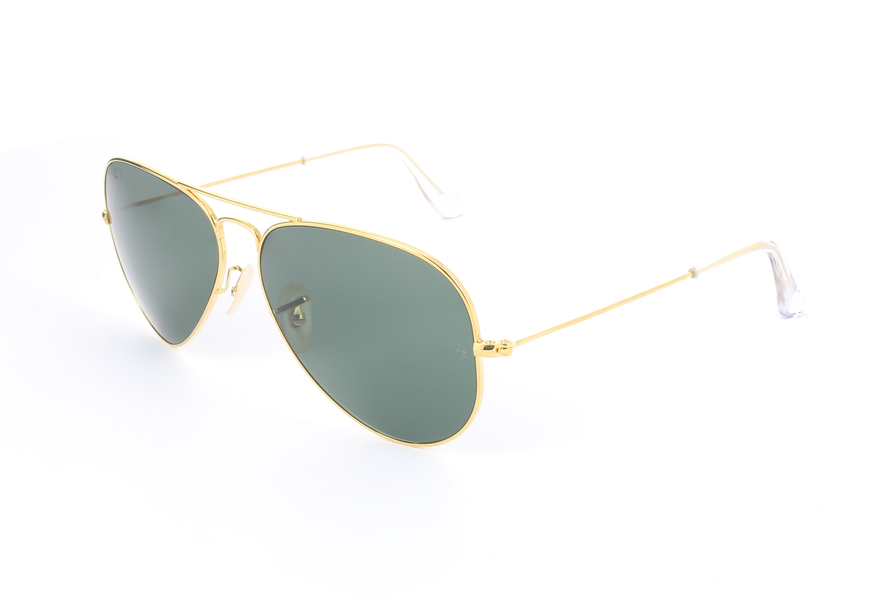 aviator ray ban gold  Ray-Ban Aviator Solid Gold Aviator Solid Gold RB3025K 160/N5 ...