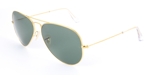 Ray-ban Aviator Solid Gold RB3025K AVIATOR SOLID GOLD 160/N5