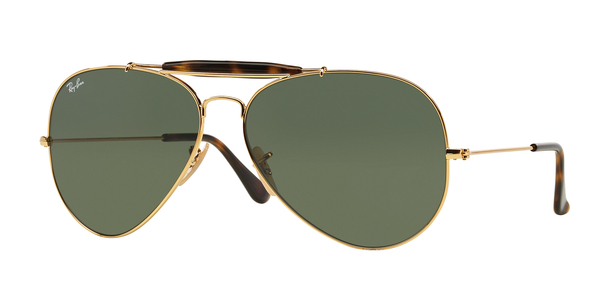 RAY-BAN RB3029 OUTDOORSMAN II » GOLD