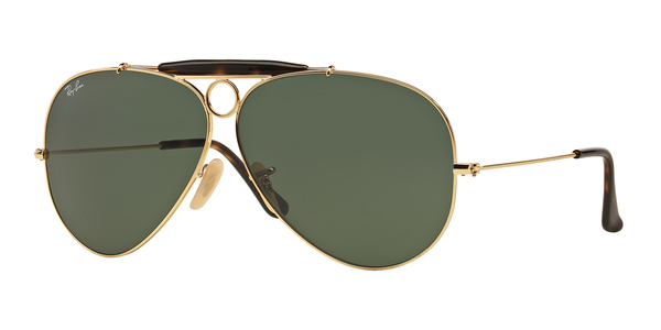 RAY-BAN RB3138 SHOOTER » GOLD