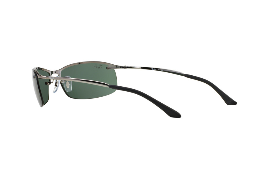 ... RAY BAN RB3183 TOP BAR » GUNMETAL/GREEN