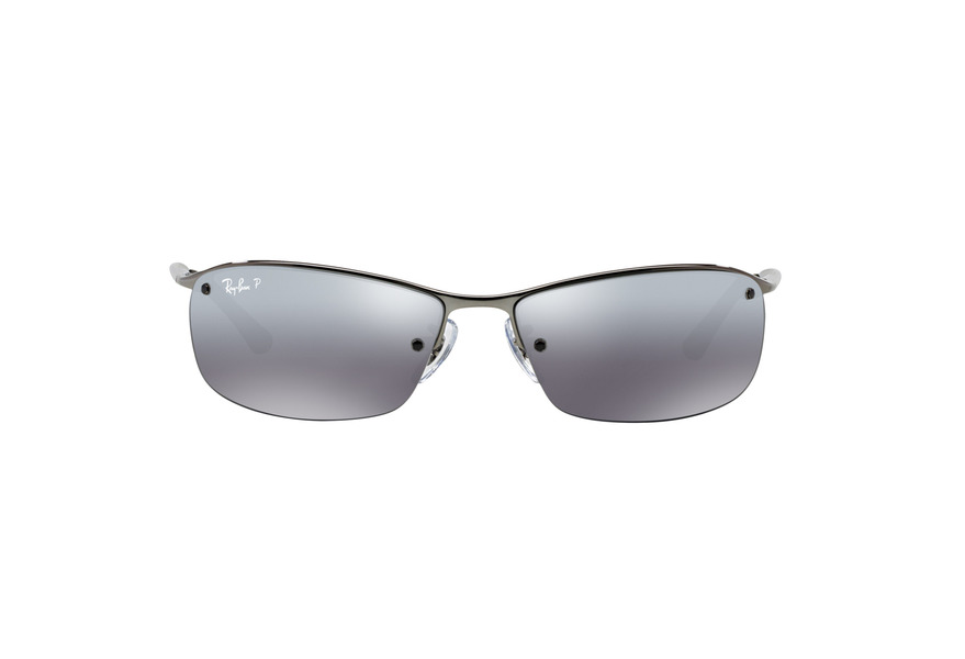 ... RAY BAN RB3183 TOP BAR » GUNMETAL/GRAY MIRROR POLARIZED ...