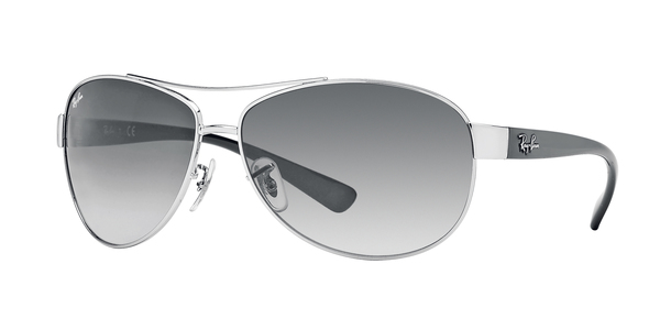 RAY-BAN RB3386 » SILVER/GRAY GRADIENT