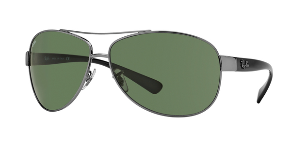RAY-BAN RB3386 » GUNMETAL/GREEN