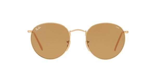 RAY-BAN RB3447 ROUND METAL » GOLD