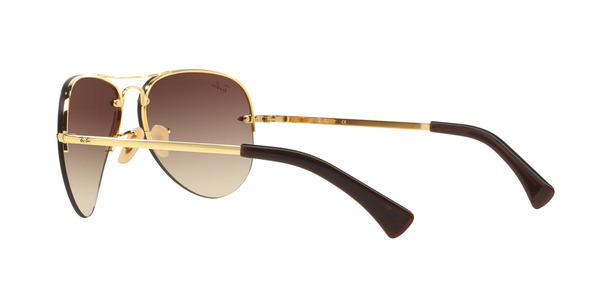 RAY-BAN RB3449 » ARISTA BROWN GRADIENT