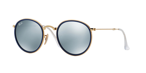 Ray-Ban RB3517 FOLDING ROUND METAL 001/30