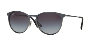RAY-BAN Erika Metal RB3539 192/8G SHOT GREY METALLIC
