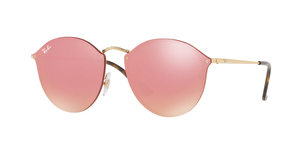 RAY-BAN Blaze Round RB3574N-001/E4 GOLD