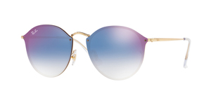 RAY-BAN Blaze Round RB3574N-001/X0 GOLD