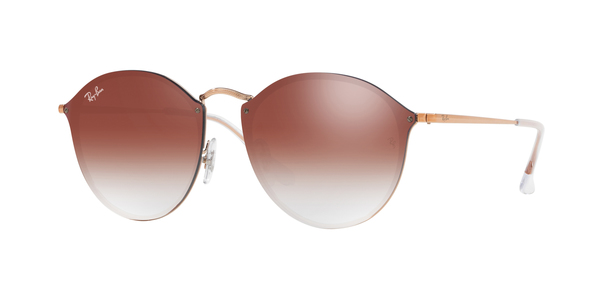 RAY-BAN BLAZE ROUND RB3574N » COPPER