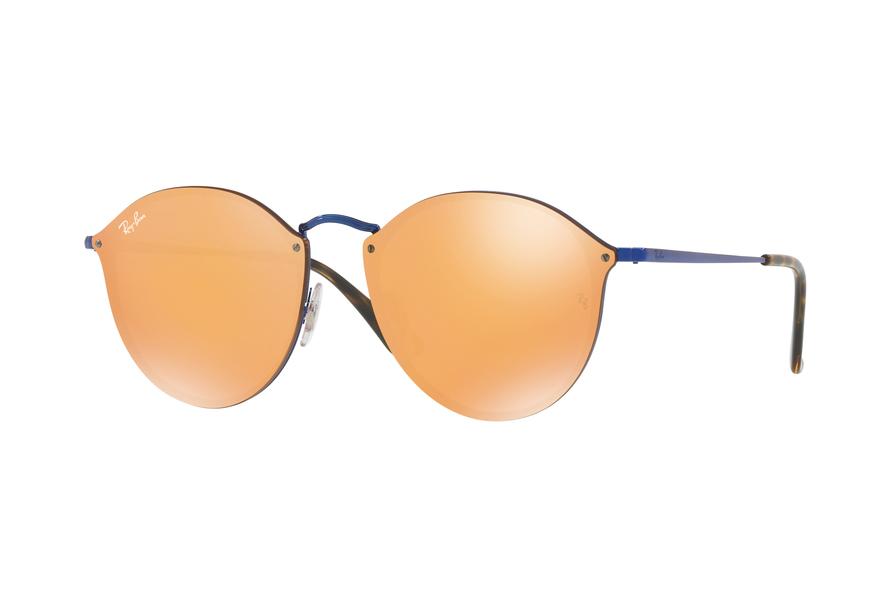 Ray-Ban Blaze Sonnenbrille Blau 90387J 59mm oaYXdjB