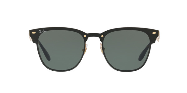 RAY-BAN BLAZE CLUBMASTER RB3576N » GOLD STRIPED