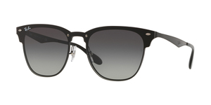 RAY-BAN Blaze Clubmaster RB3576N 153/11 DEMI GLOSS BLACK