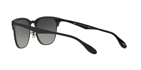 RAY-BAN BLAZE CLUBMASTER RB3576N » DEMI GLOSS BLACK