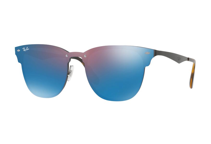 Ray-Ban Blaze Sonnenbrille Schwarz / Violett 153/7V 41mm W4mKwdEs