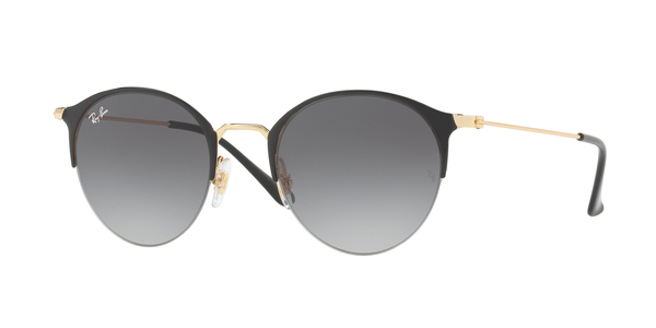 RAY-BAN RB3578 » GOLD TOP SHINY BLACK