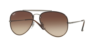 RAY-BAN Blaze Aviator RB3584N 004/13 GUNMETAL