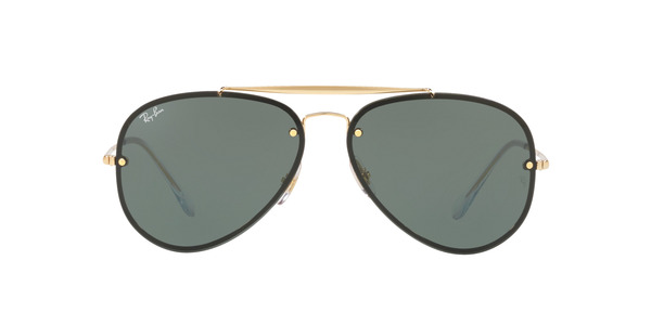 RAY-BAN BLAZE AVIATOR RB3584N » GOLD