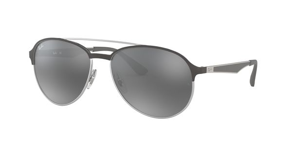 869a0194c9 RAY-BAN RB3606 912688 SILVER ON TOP MATTE GREY
