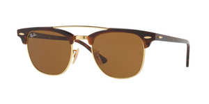 Clubmaster Doublebridge RB3816 990/33 GOLD