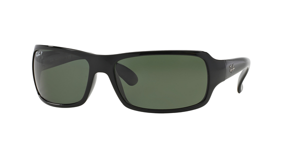 60158 Ray Ban Polarized Rb4075 Blackcrystal Green PukXZi