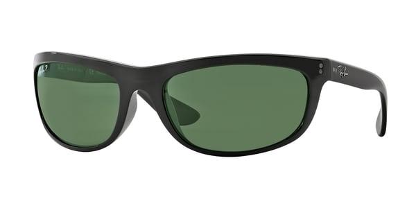 RAY-BAN BALORAMA RB4089 » BLACK CRYSTAL GREEN POLARIZED