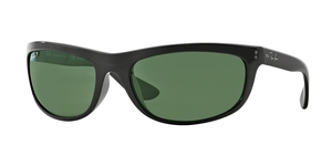 Balorama RB4089 601/58 BLACK CRYSTAL GREEN POLARIZED