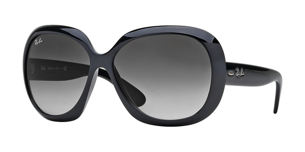 RAY-BAN RB4098 JACKIE OHH II » BLACK/GRAY GRADIENT