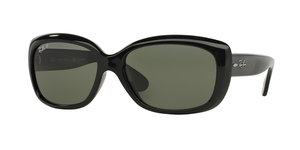 Jackie Ohh RB4101 601/58 BLACK CRYSTAL GREEN POLARIZED