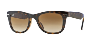 Folding Wayfarer RB4105 710/51 LIGHT HAVANA CRYSTAL BROWN GRADIENT