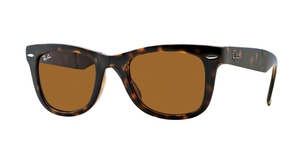 Folding Wayfarer RB4105 710 LIGHT HAVANA CRYSTAL BROWN