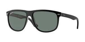 RB4147 601/58 BLACK CRYSTAL GREEN POLARIZED