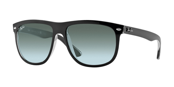 RAY-BAN RB4147 » TOP BLACK ON TRASPARENT GREY GRADIENT AZURE