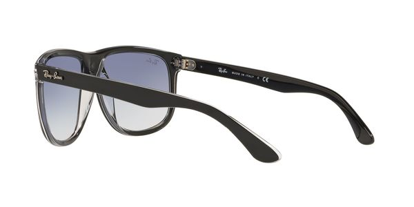 RAY-BAN RB4147 » TOP BLACK ON TRANSPARENT