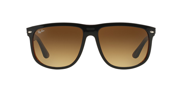 RAY-BAN RB4147 » TOP BLACK ON BROWN BROWN GRADIENT
