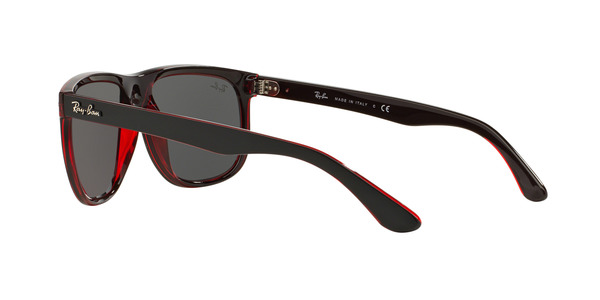 RAY-BAN RB4147 » TOP MAT BLACK ON RED TRASP