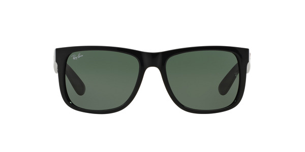 RAY-BAN RB4165 JUSTIN » BLACK (GREEN)
