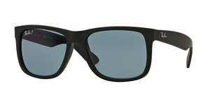 RAY-BAN Justin RB4165 622/2V BLACK RUBBER