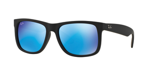 RAY-BAN Justin RB4165 622/55 BLACK RUBBER
