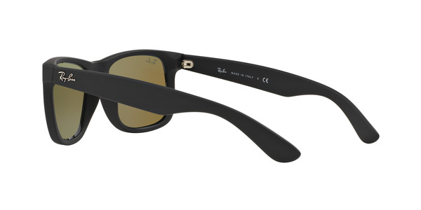 RAY-BAN RB4165 JUSTIN » BLACK RUBBER