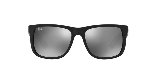 RAY-BAN RB4165 JUSTIN » RUBBER BLACK