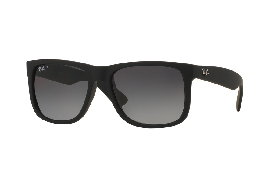 Ray-Ban Justin Lunettes de soleil - rubber brown on grey iYMDYH4