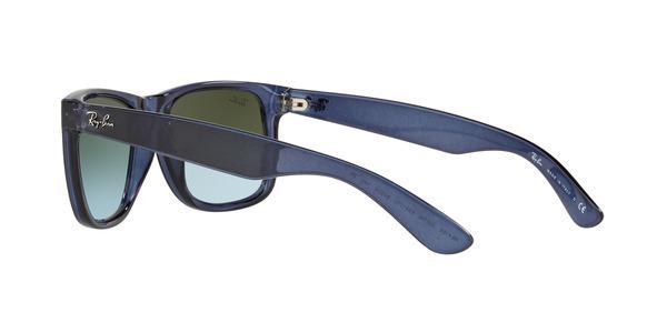 RAY-BAN RB4165 JUSTIN » TRASPARENT BLUE