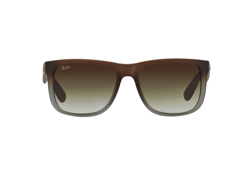 3839226c0c7 release date ray ban rb4165 justin rubber brown on grey green gradient  2c570 c7731
