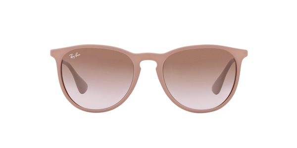 ... BROWN RAY-BAN RB4171 ERIKA » DARK RUBBER SAND GRADIENT ... 00ca4364e541