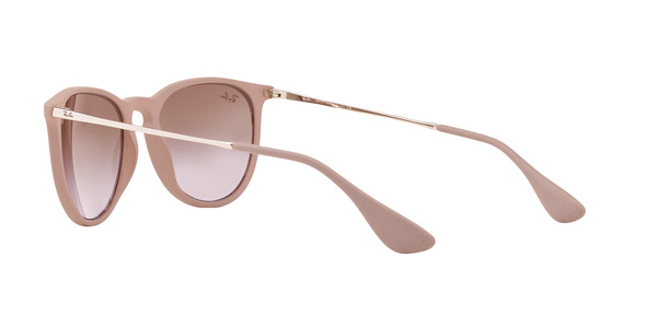 RAY-BAN RB4171 ERIKA » DARK RUBBER SAND GRADIENT BROWN