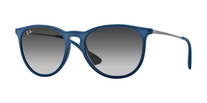 RAY-BAN Erika RB4171 60028G RUBBER BLUE GRADIENT GREY